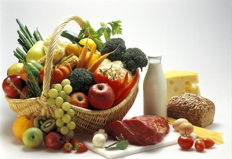 Mixed Food Still Life
