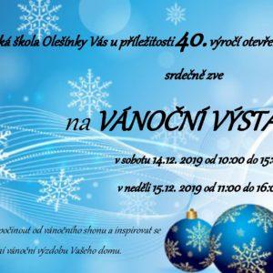 plakát Vánoční výstava