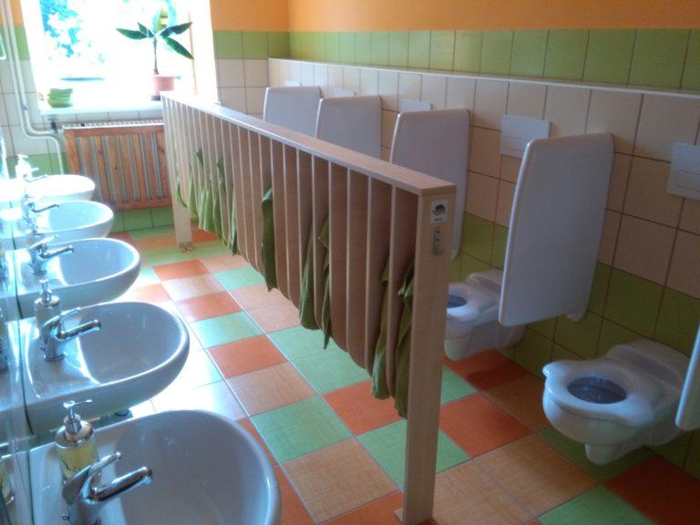 Školka prošla přes prázdniny rekonstrukcí. Máme nové umývarny!